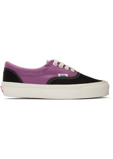 Vans Black & Purple OG Era LX Sneakers