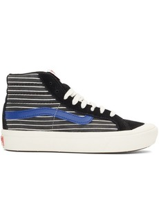 Vans Black & White Comfycush Style 138 LX High Top Sneakers