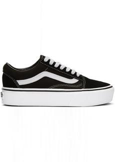 Vans Black & White Old Skool Platform Sneakers