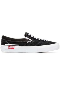 Vans black and white Vault UA suede sneakers