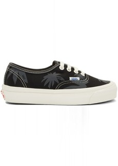 Vans Black Island Leaf OG Authentic LX Sneakers