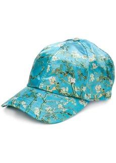 Vans blossom print baseball cap