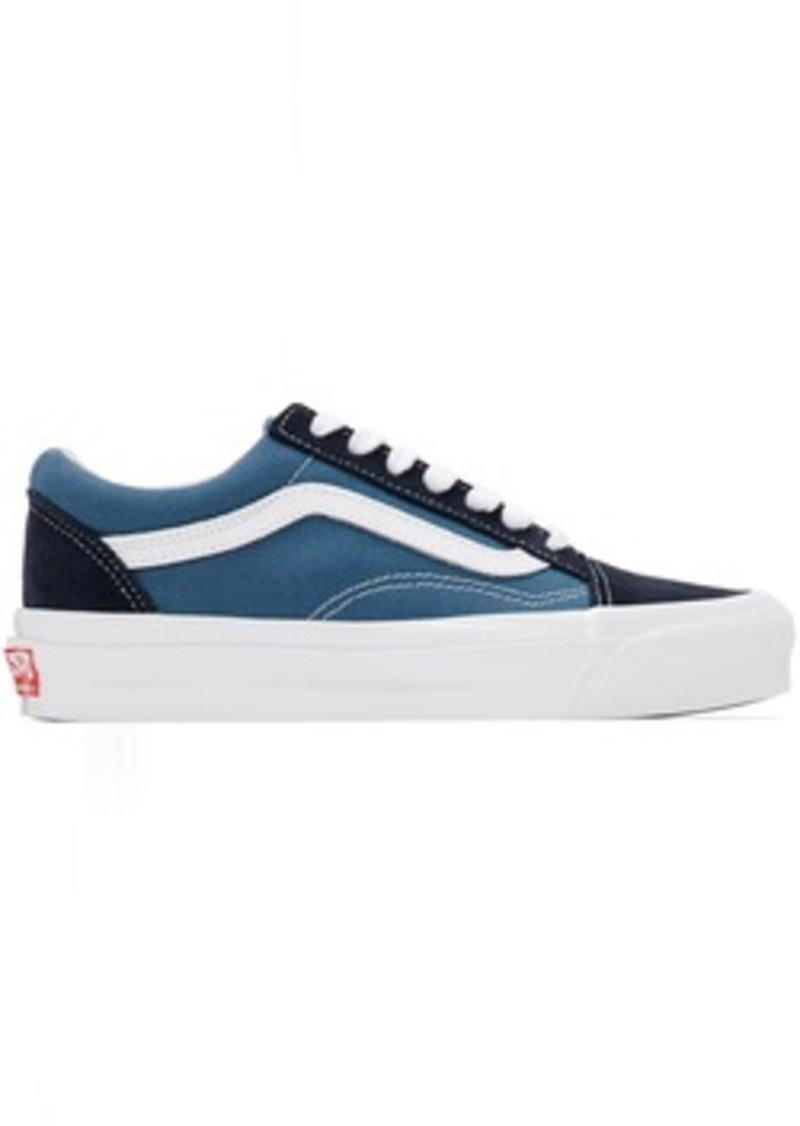 Vans Blue & Navy OG Old Skool LX Sneakers