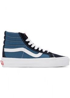 Vans Blue & Navy OG Sk8-Hi LX Sneakers
