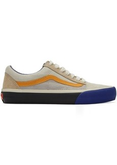 Vans Blue & Orange Old Skool Tlt LX Sneakers