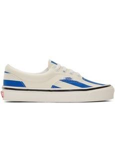 Vans Blue & White Striped Era 95 DX Sneakers