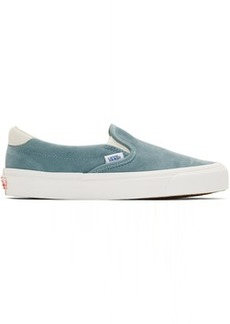 Vans Blue Suede OG 59 LX Slip-On Sneakers
