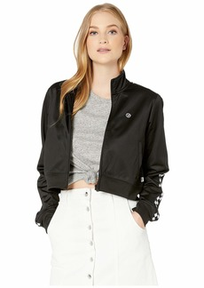 Vans Check Mark Crop Track Jacket