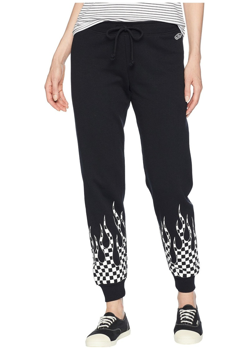 brand new how to find order Checker Flame Sweatpants