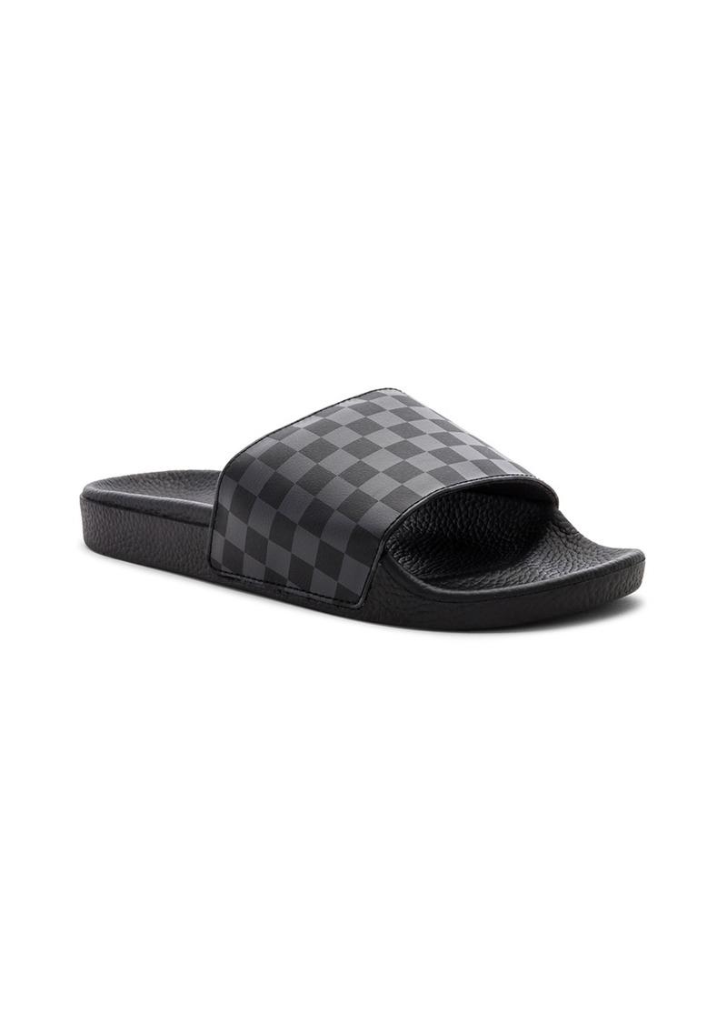 dbb44240db0 Vans Checkerboard Slide-On