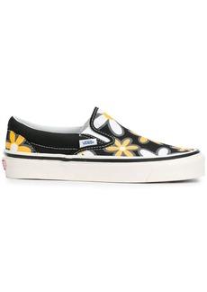 Vans Classic floral-print sneakers
