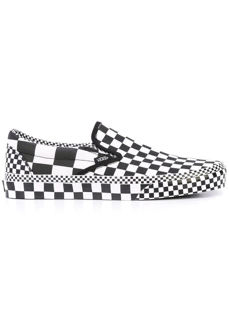 Vans classic slip-on check sneakers