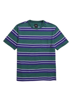 Vans Continental Stripe T-Shirt (Big Boys)