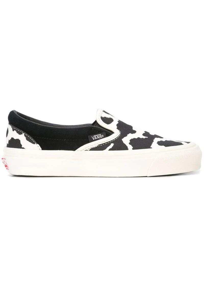 Vans cow print sneakers