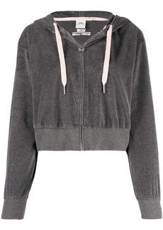 Vans cropped zipped hoodie