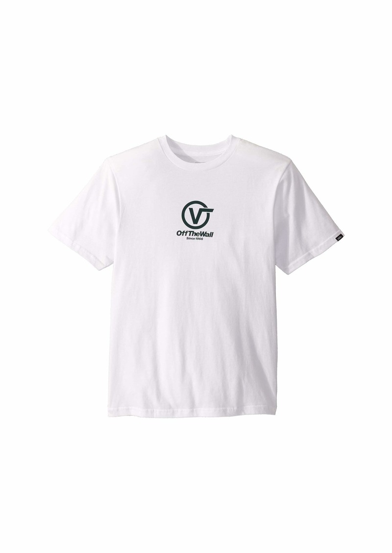Vans Distorted Performance Short Sleeve T-Shirt (Big Kids)