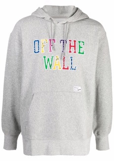 Vans embroidered Off-The-Wall hoodie