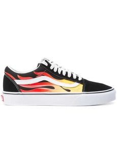 Vans fire streak lace-up sneakers