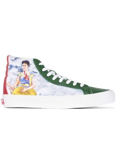 Vans high top Frida Kahlo print sneakers