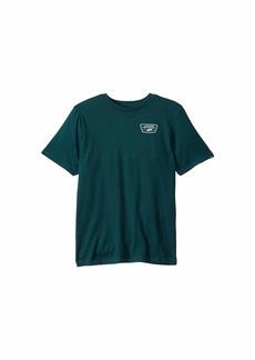 Vans Full Patch Back Short Sleeve T-Shirt (Big Kids)