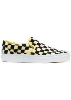 Vans furry checked sneakers