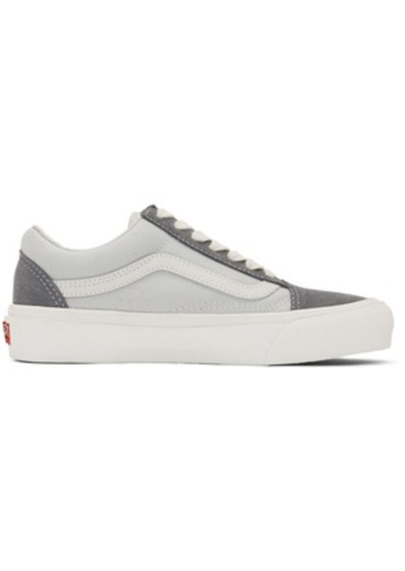 Vans Grey OG Old Skool LX Low Sneakers