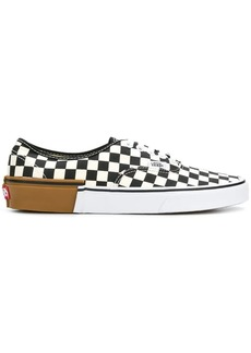 Vans Gum Block Authentic check sneakers