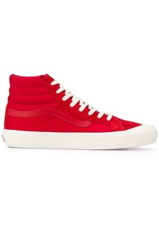 Vans hi-top lace up sneakers