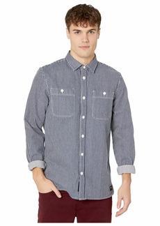 Vans Hickory Stripe Long Sleeve Shirt