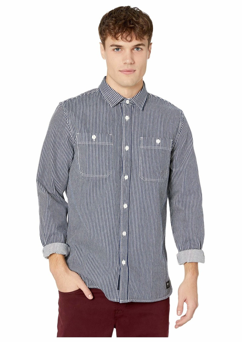 Vans Hickory Stripe Long Sleeve Shirt