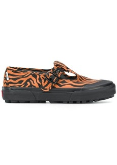 Vans X Ashley Williams Mary Jane tiger print sneakers