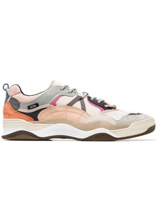 Vans multicoloured Varix leather and suede sneakers