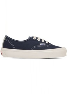 Vans Navy OG Authentic LX Sneakers