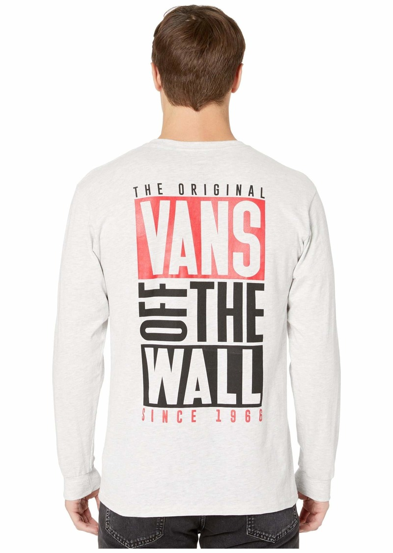 Vans New Stax Long Sleeve Tee