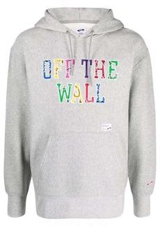 Vans Off The Wall appliqué hoodie