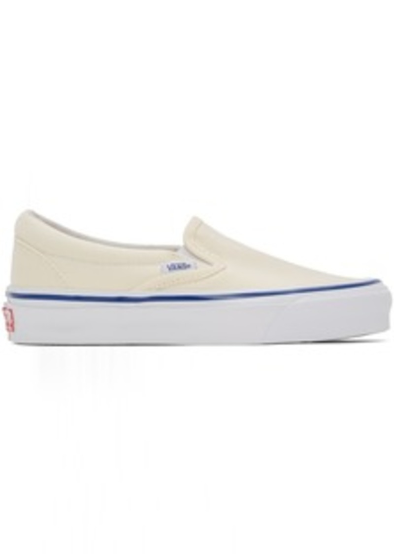 Vans Off-White OG Classic Slip-On LX Sneakers
