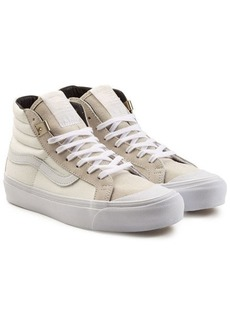 Vans OG 138 SK8 High Top Canvas Sneakers with Leather