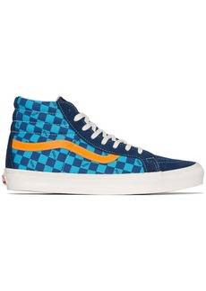 Vans OG SK8 hi-top checked sneakers