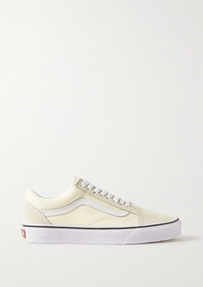 Vans Old Skool Canvas, Suede And Leather Sneakers