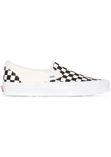 Vans Old Skool Checkerboard slip-on sneakers
