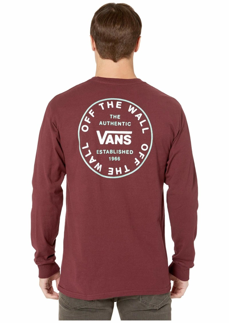 Vans Old Skool Circle Long Sleeve Tee