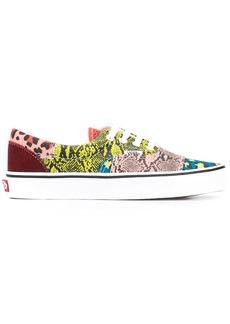 Vans patchwork animal-print sneakers