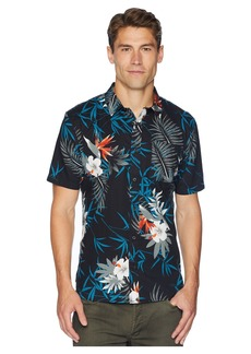 Vans Peace Out Floral Short Sleeve Woven