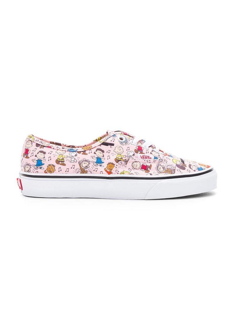 a7dd356db43254 Vans Peanuts Authentic Sneaker