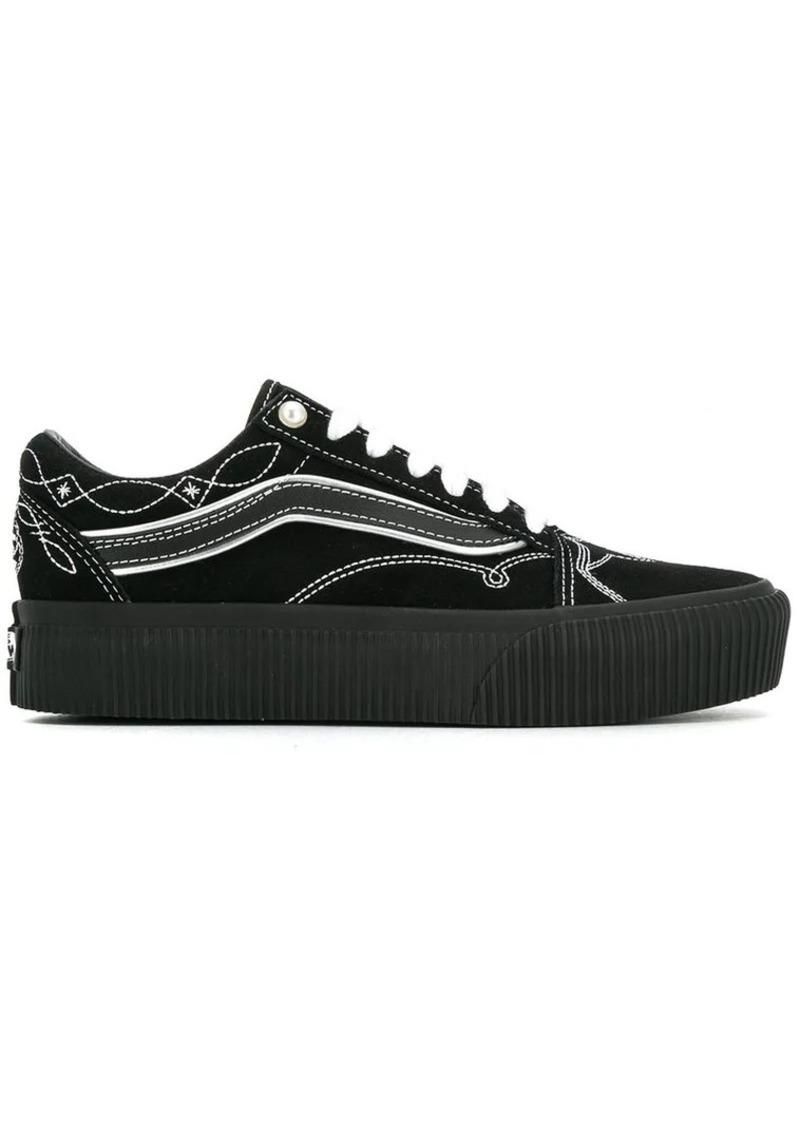 vans old skool platform schoenen