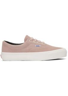Vans Pink OG Era Lx Sneakers