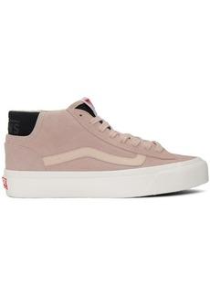 Vans Pink OG Mid Skool Lx Sneakers