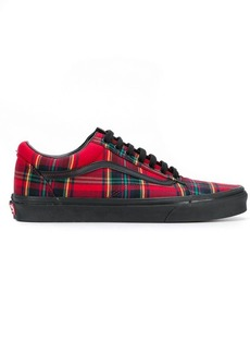 Vans plaid mix Old Skool sneakers