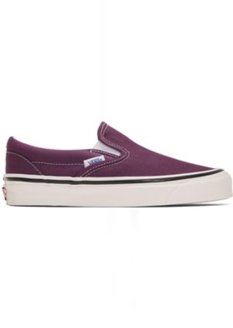 Vans Purple Anaheim Factory Classic Slip-On 98 DX Sneakers