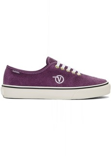 Vans Purple LQQK Studio Edition Authentic One Pie Sneakers